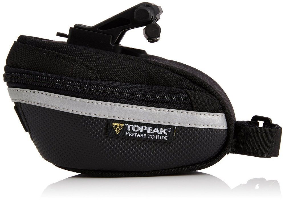 TOPEAK Wedge Pack II, W/Fixer25, W/Ran Cover MICRO велосумка с чехлом от дождя