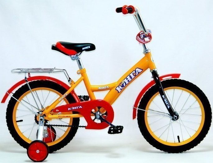 """Детский велосипед Юнга 16"""""""