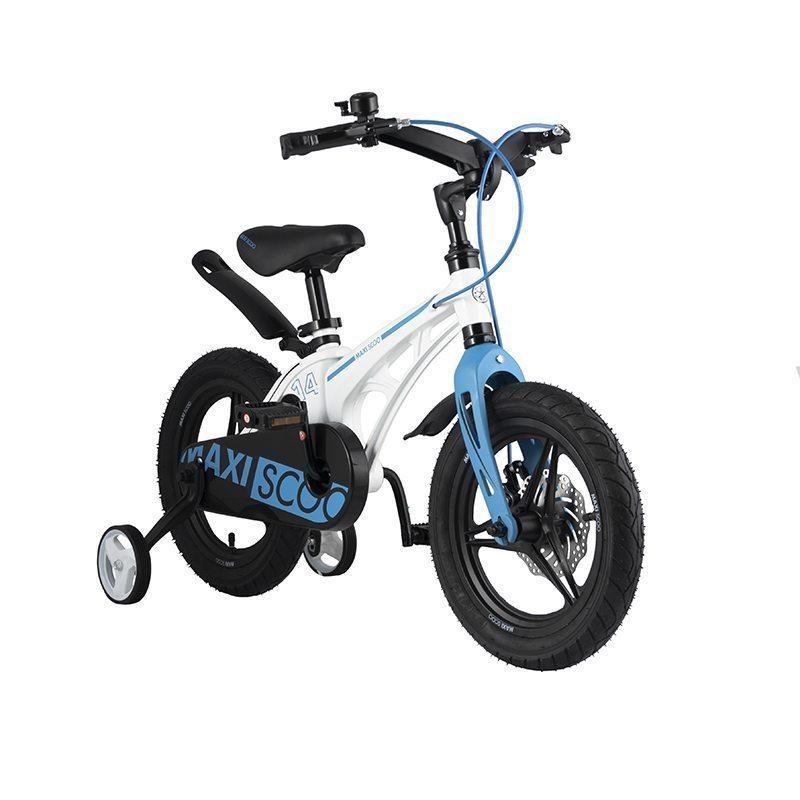 """Детский 2- колесный велосипед Maxiscoo Cosmic Делюкс, 14"""" (2021)"""