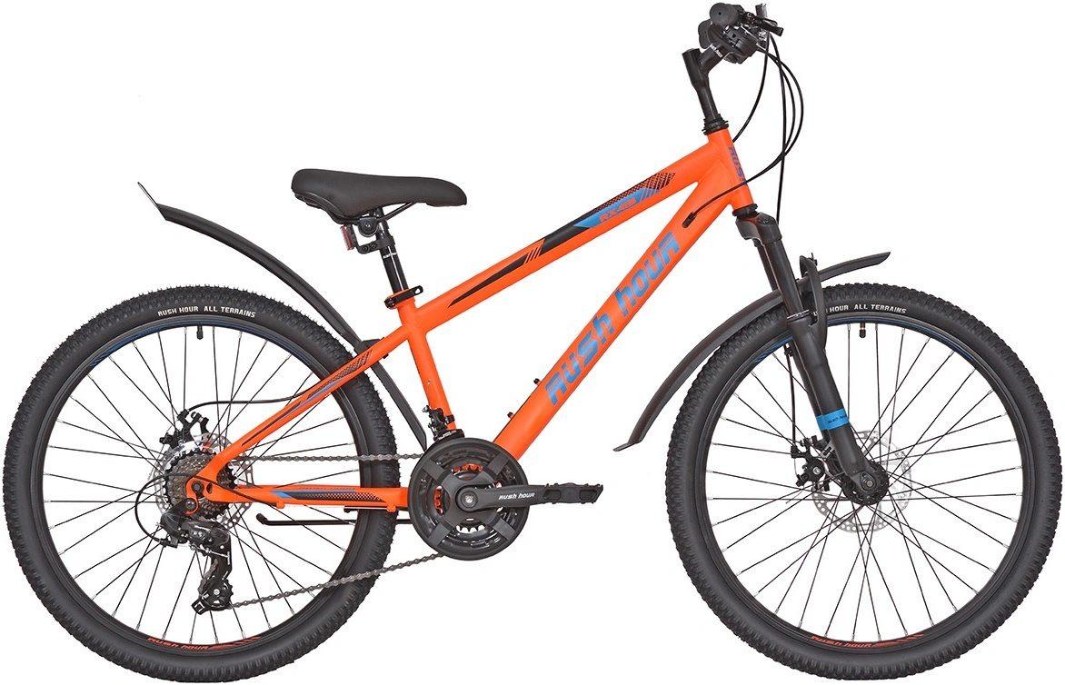 "Велосипед 24"" 21ск RUSH HOUR RX 415 DISC ST"