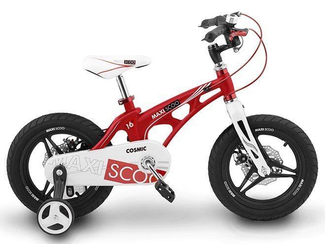 """Детский 2- колесный велосипед Maxiscoo Cosmic Делюкс, 16"""" (2020)"""