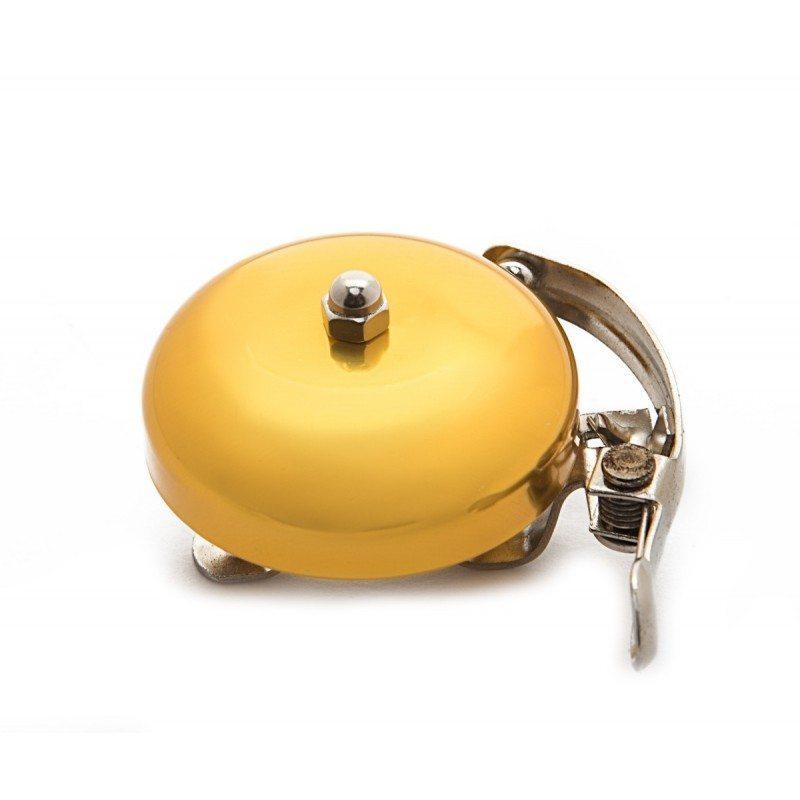 Vintage. Звонок велосипедный, золотой металлик, диаметр 53мм