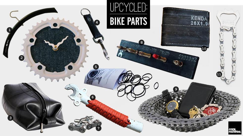 вещи из велосипеда